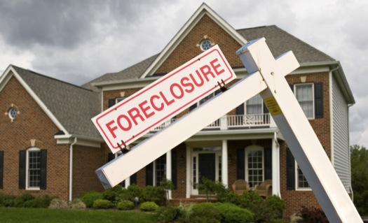A House in Foreclosure