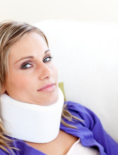 Woman injured