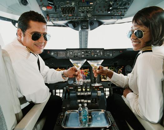 Flying Drunk Drinking Flight Pilots
