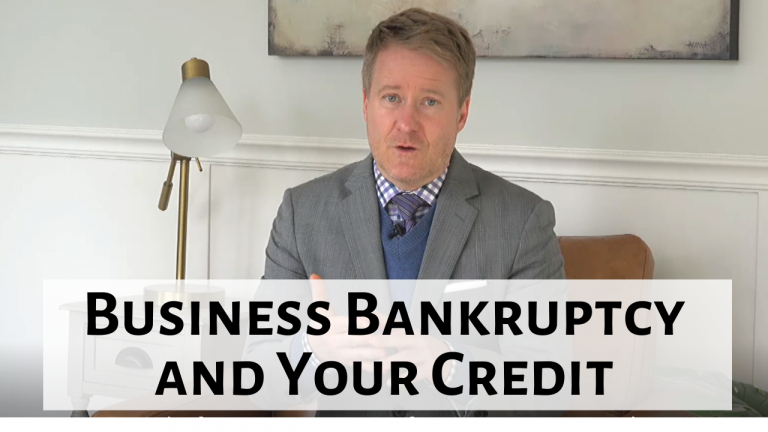 If My Business Fails and I File Bankruptcy, How Will It Affect My Credit?