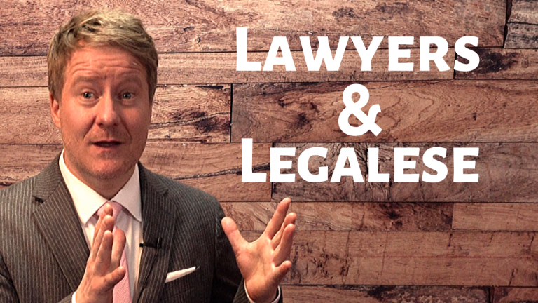 Why Do Lawyers Use Legalese?