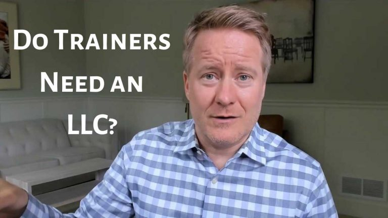 Would Sports and Fitness Trainers Benefit from an LLC?
